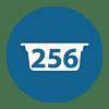 256 Cápsulas