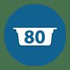 80 Cápsulas